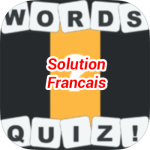 Words Quiz Solution Francais