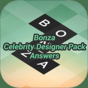 Bonza Celebrity Designer Pack Answers