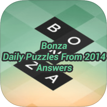 Bonza Daily Puzzles From 2014 Answers