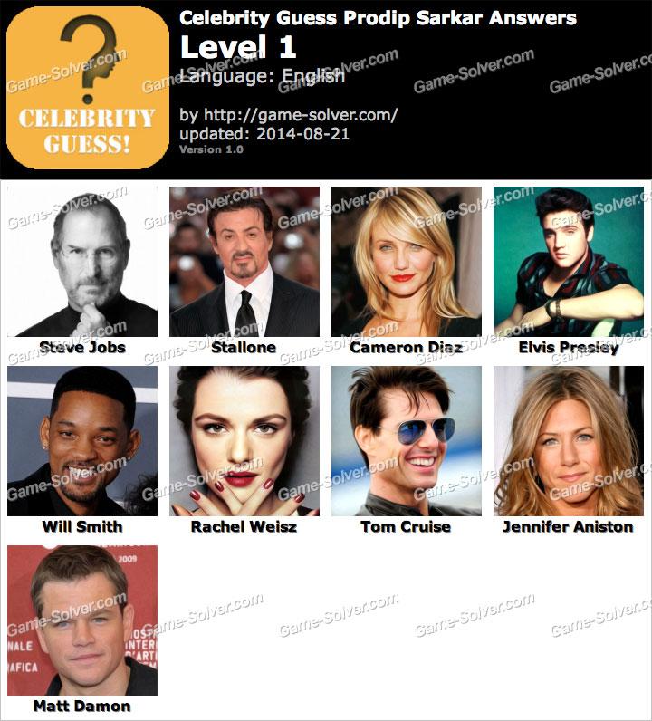 Celebrity Guess Prodip Sarkar Level 1