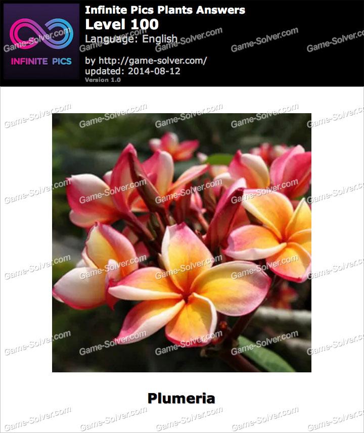 Infinite Pics Plants Level 100