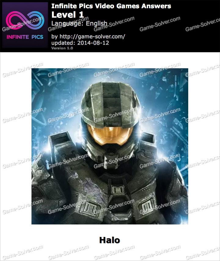 Infinite Pics Video Games Level 1