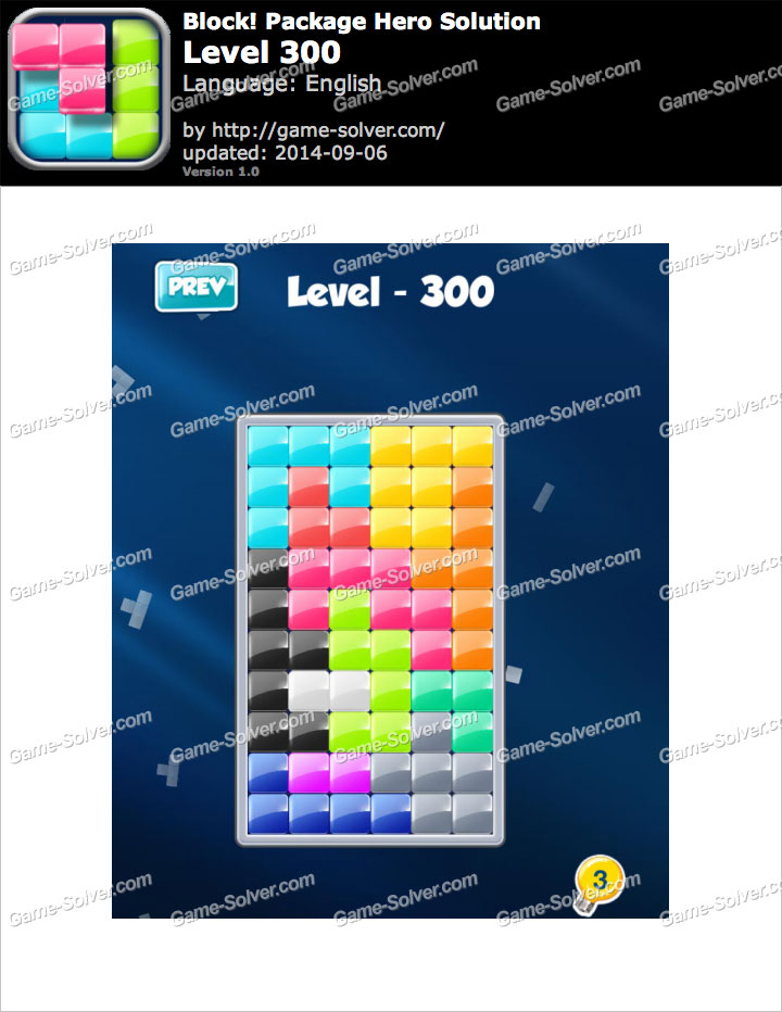 Block! Package Hero Level 300