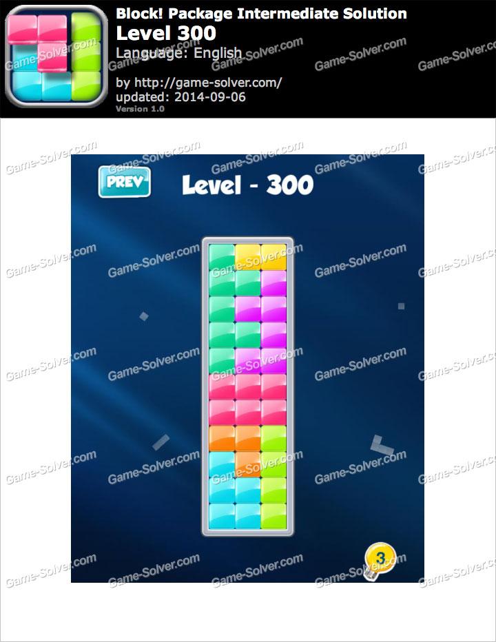 Block! Package Intermediate Level 300