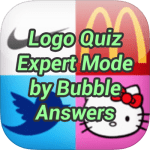 Logo Quiz Expert Mode Bubble Answers