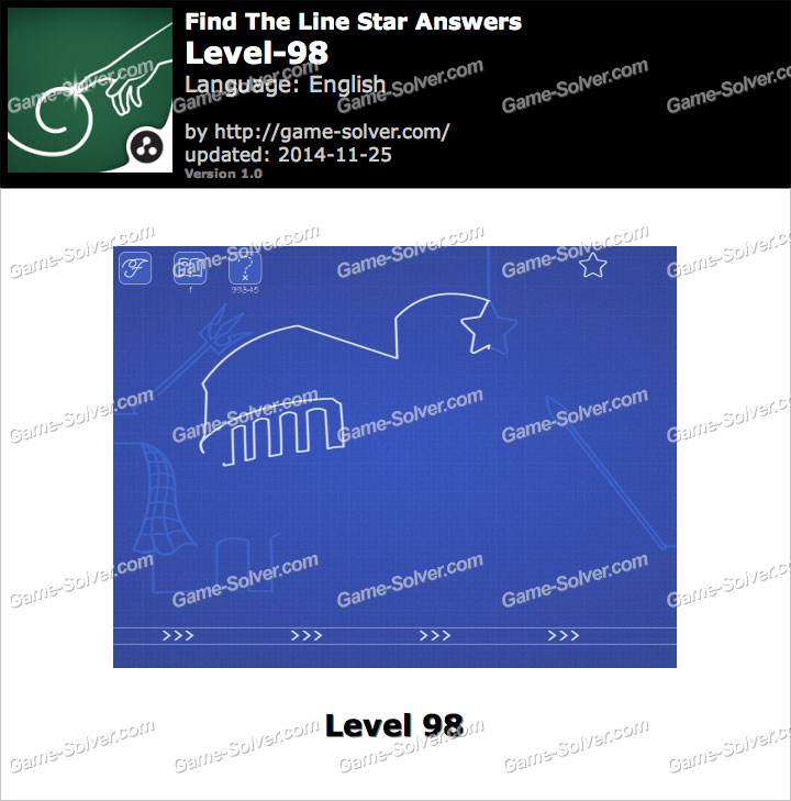 Find The Line Star Level 98
