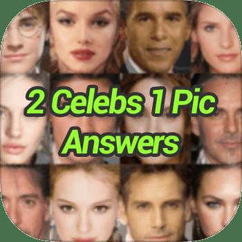 2 Celebs 1 Pic Answers