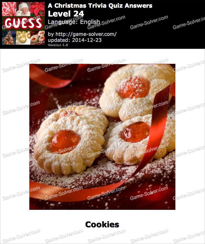 A Christmas Trivia Quiz Level 24
