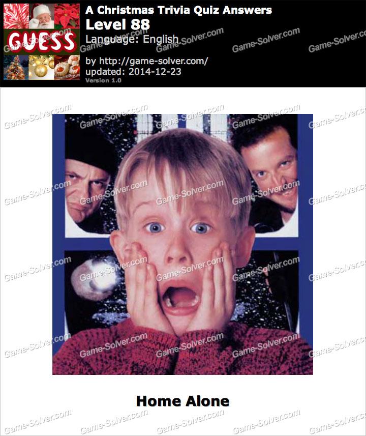 A Christmas Trivia Quiz Level 88