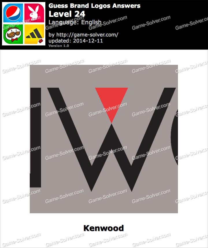 Guess Brand Logos Level 24