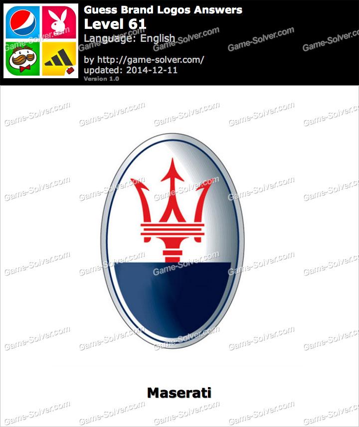 Guess Brand Logos Level 61