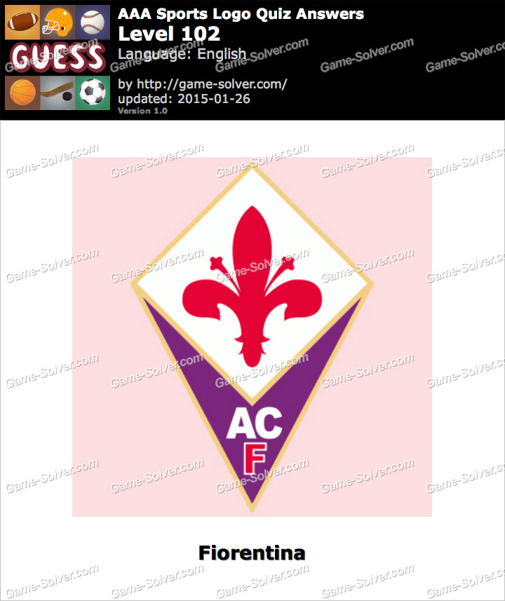 AAA Sports Logo Quiz Level 102