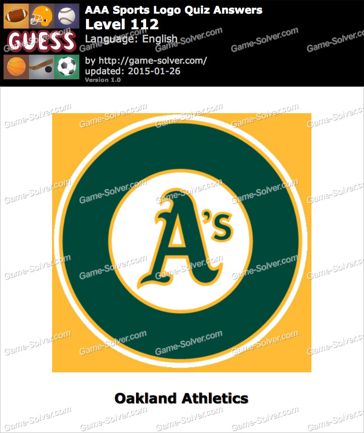 AAA Sports Logo Quiz Level 112