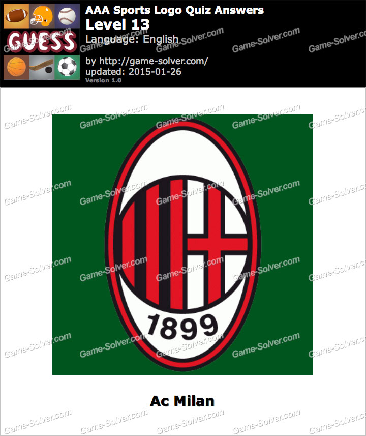 AAA Sports Logo Quiz Level 13