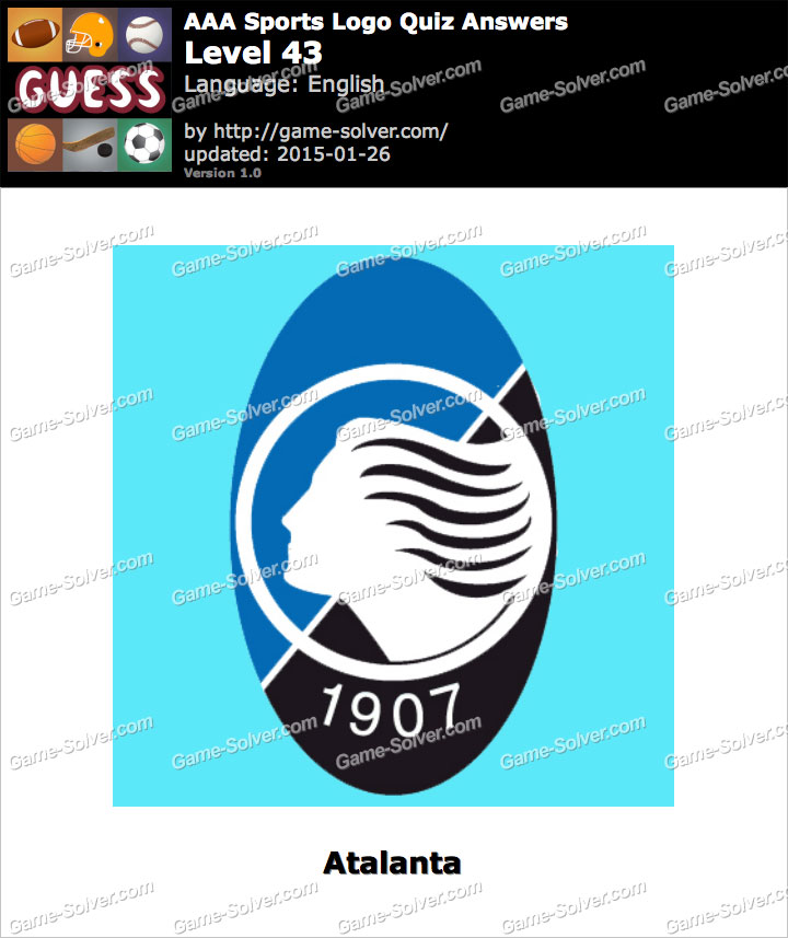 AAA Sports Logo Quiz Level 43