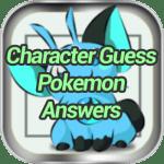Character Guess Pokemon Answers