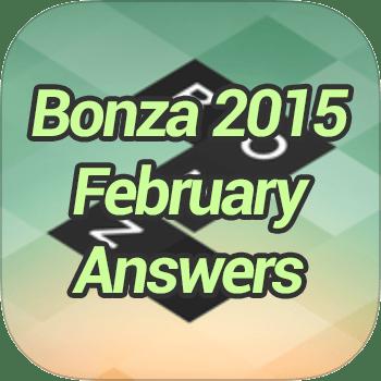 Bonza 2015 February Answers