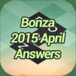 Bonza 2015 April Answers