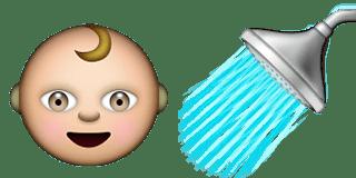 Guess Up Emoji Baby Shower
