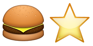 Guess Up Emoji Carls Jr