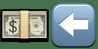 Guess Up Emoji Cash Back