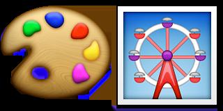 Guess Up Emoji Color Wheel