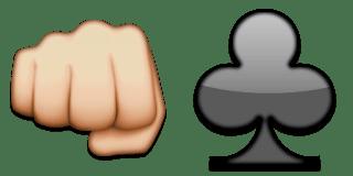 Guess Up Emoji Fight Club