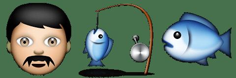 Guess Up Emoji Fisherman