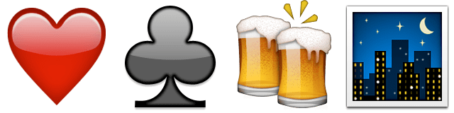 Guess Up Emoji Poker Night