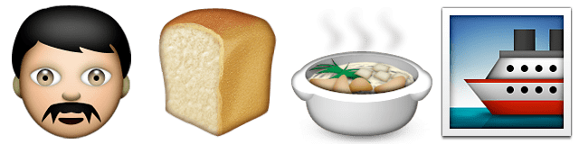 Guess Up Emoji Sea Cook