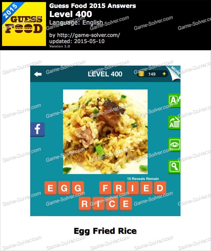 Guess Food 2015 Level 400