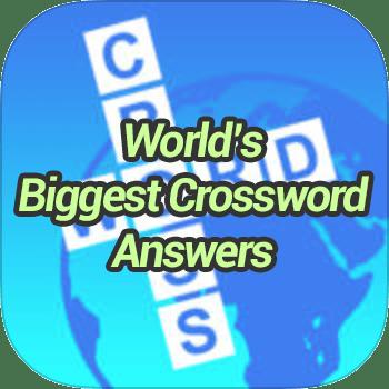 Worlds Biggest Crossword Answers