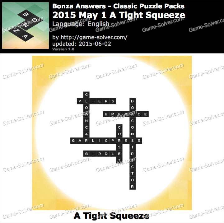 Bonza 2015 May 1 A Tight Squeeze