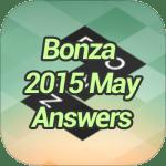 Bonza 2015 May Answers