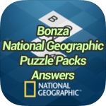 Bonza National Geographic Puzzle Packs Answers