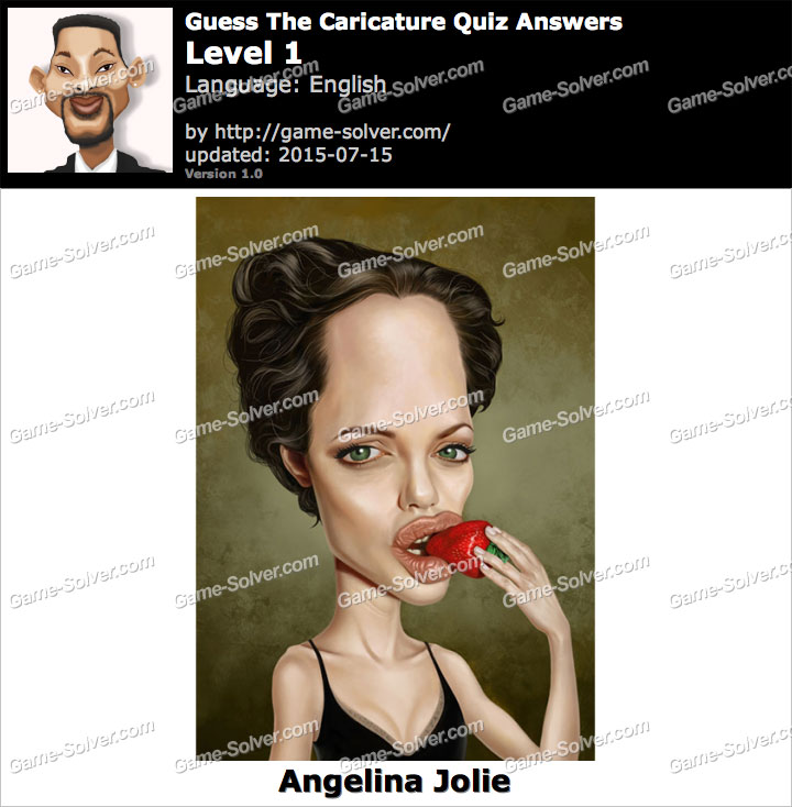 Guess The Caricature Quiz Level 1