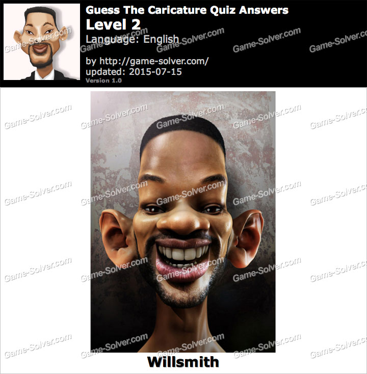 Guess The Caricature Quiz Level 2
