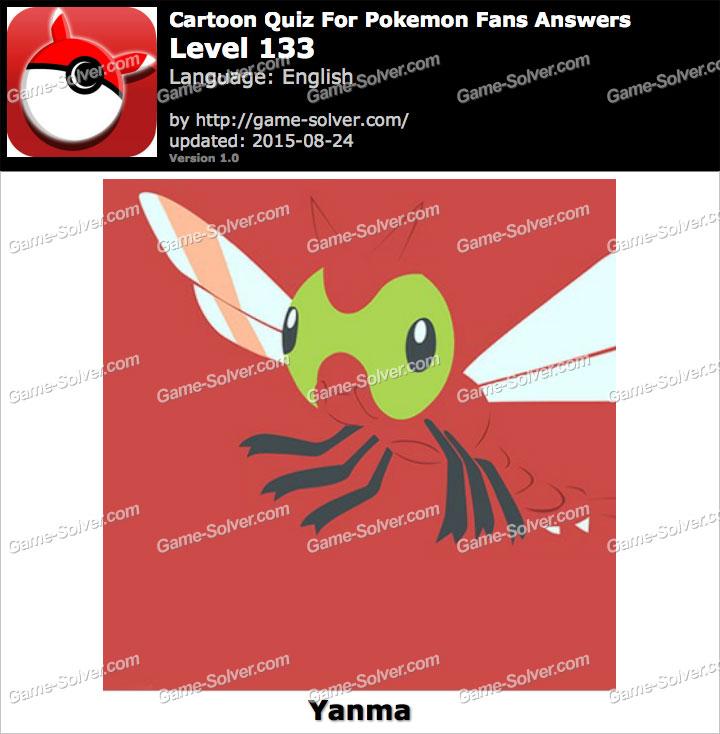 Cartoon Quiz For Pokemon Fans Level 133