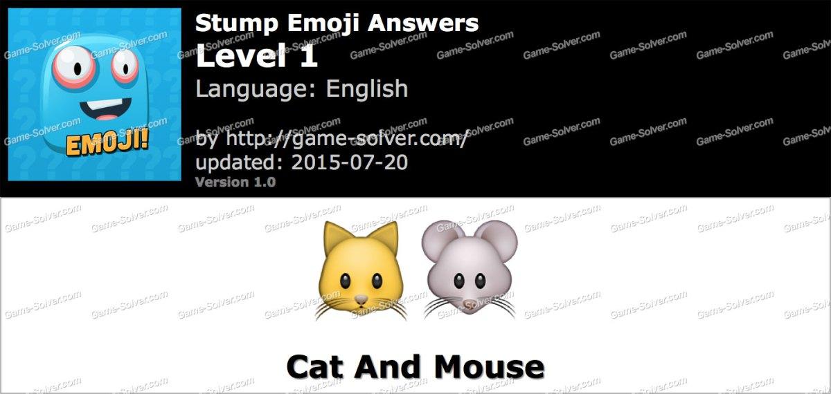 Stump Emoji Level 1