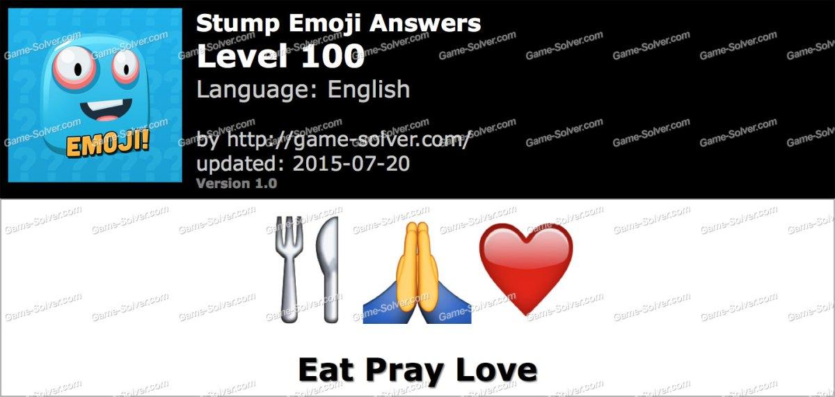 Stump Emoji Level 100