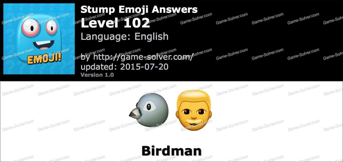 Stump Emoji Level 102