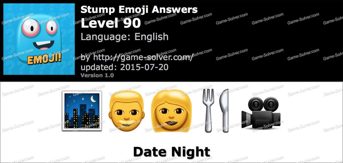 Stump Emoji Level 90