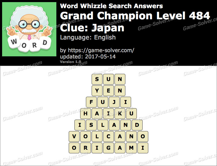 foto de Word Whizzle Search Grand Champion Level 484 Answers - Game Solver