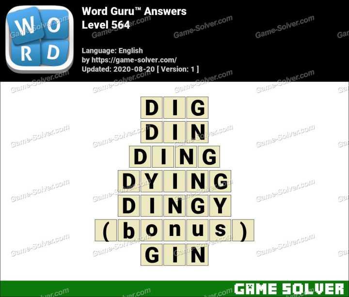 Word Guru Level 564 Answers