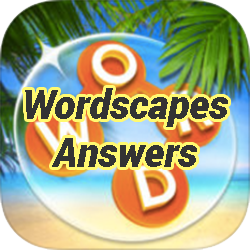 Wordscapes Sky Cloud 4 Answers Game Solver