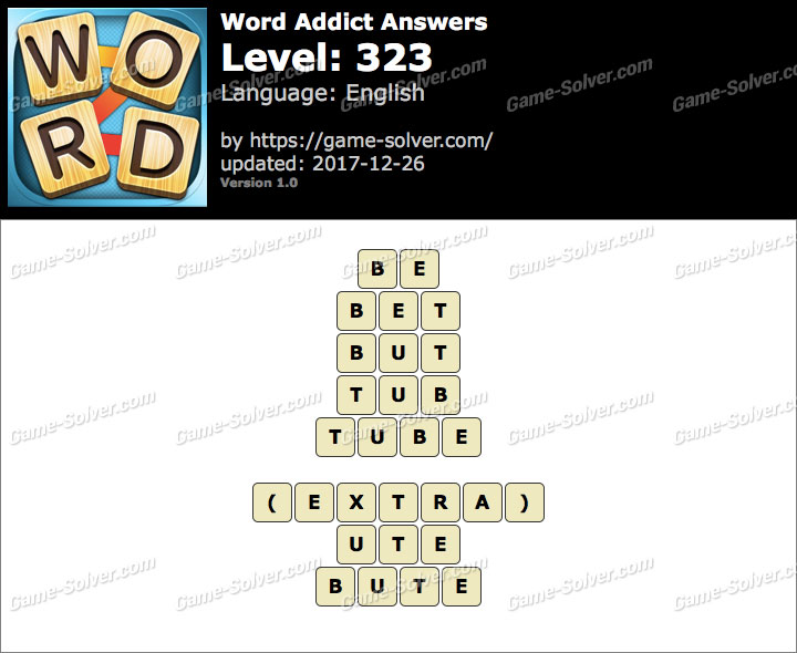 Word Addict Level 323 Answers