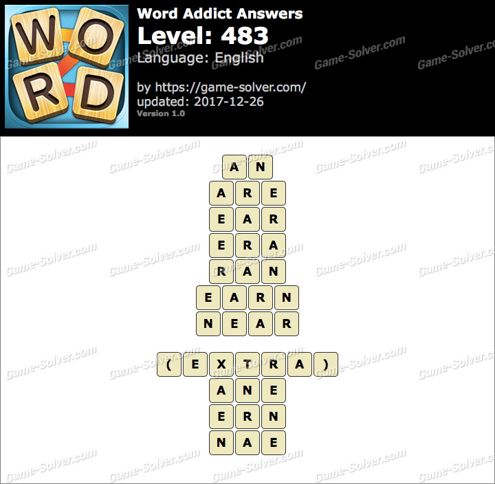 Word Addict Level 483 Answers