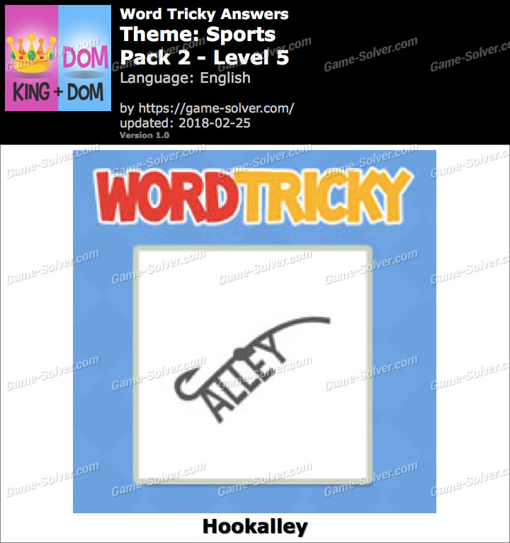 Word Tricky Sports Pack 2-Level 5 Answers
