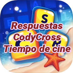 Respuestas CodyCross Crucigramas Tiempo de cine