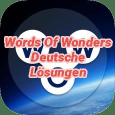 Words Of Wonders Answers German